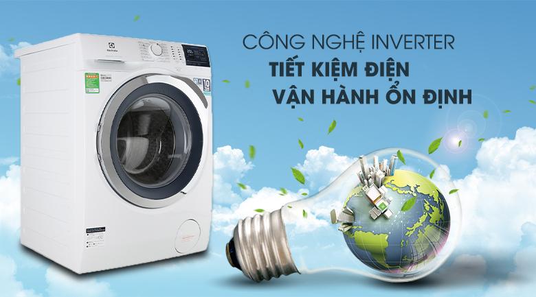 Công nghệ Inverter - Máy giặt Electrolux Inverter 10 kg EWF1024BDWA