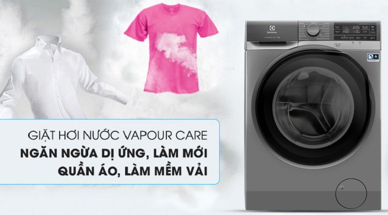 Máy giặt Electrolux Inverter 11 kg EWF1141AESA - công nghệ hơi nước Vapour Care