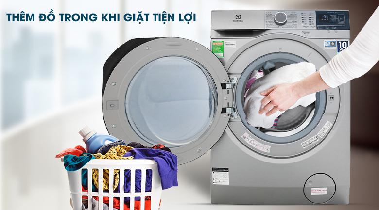 Máy giặt Electrolux EWF8024ADSA - có tính năng thêm đồ khi giặt