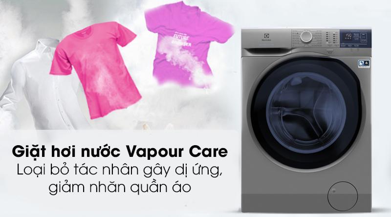Máy giặt Electrolux EWF8024ADSA - Kháng khuẩn nhờ công nghệ giặt hơi nước Vapour Care