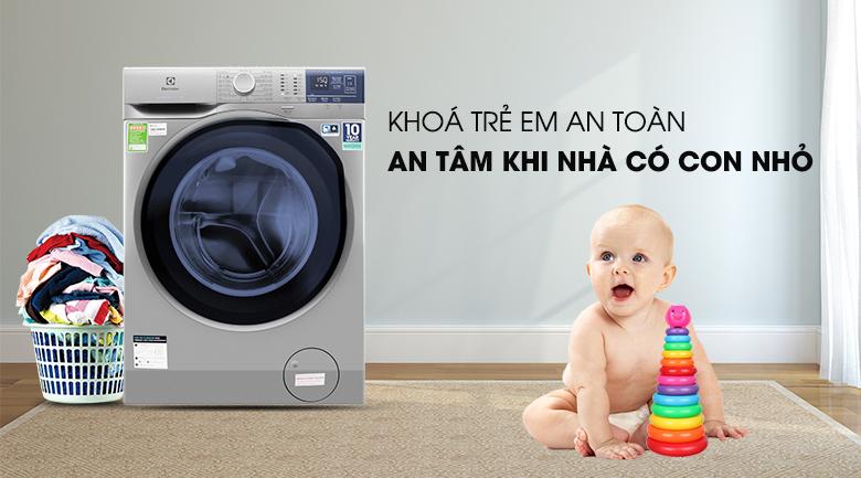 Khóa trẻ em - Máy giặt Electrolux EWF9024ADSA