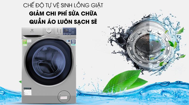 Tiết kiệm chi phí với vệ sinh lồng giặt tự động - Máy giặt Electrolux EWF9024ADSA