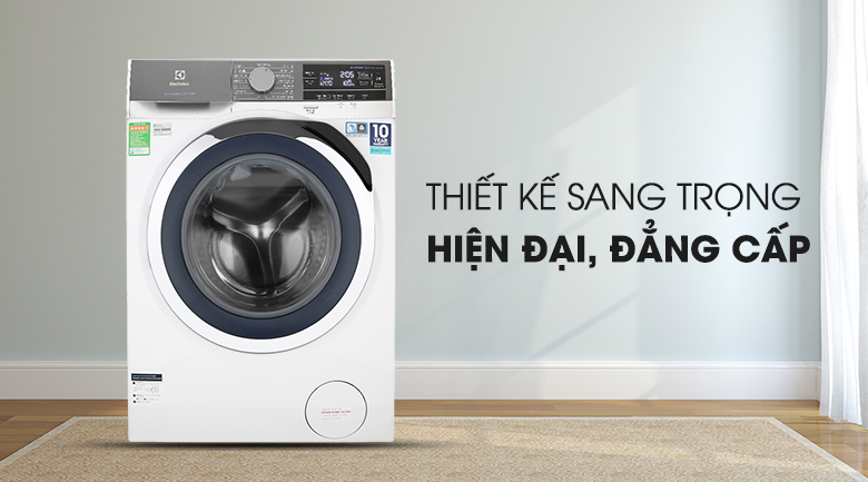 Máy giặt Electrolux Inverter 10 kg EWF1023BEWA - Thiết kế sang trọng, đẳng cấp châu Âu