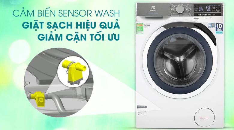 Máy giặt Electrolux Inverter 10 kg EWF1023BEWA - Cảm biến Sensor Wash