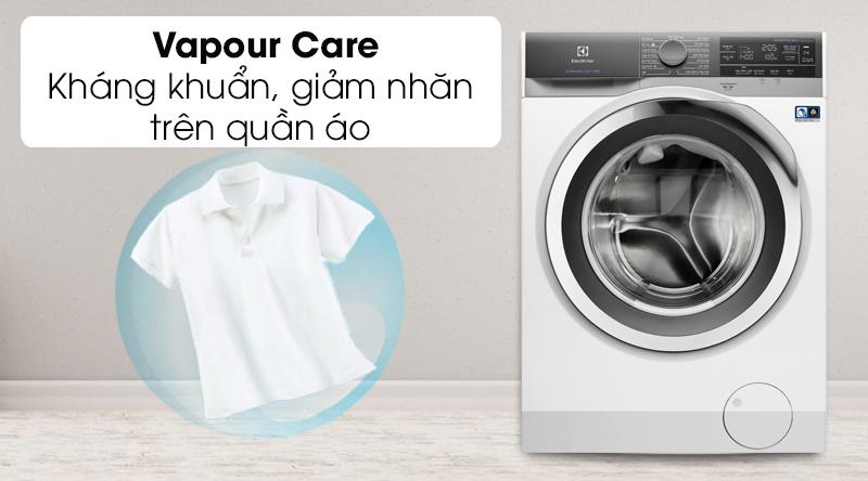 Máy giặt Electrolux Inverter 10 kg EWF1023BEWA- công nghệ giặt hơi nước Vapour Care
