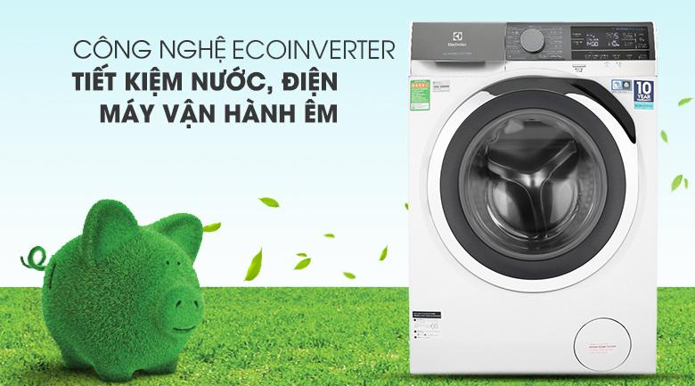 Máy giặt Electrolux Inverter 11 kg EWF1142BEWA - Siêu tiết kiệm nước – điện với công nghệ Inverter