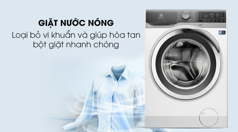 Máy giặt Electrolux Inverter 11 kg EWF1142BEWA - giặt nước nóng loại bỏ vi khuẩn hiệu quả