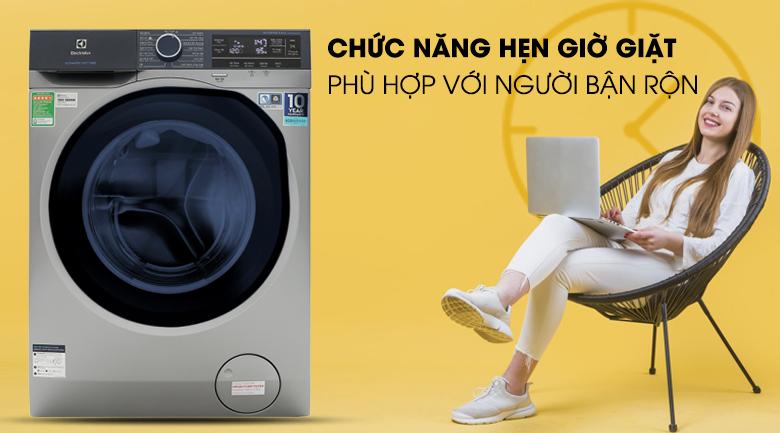 Chức năng hẹn giờ giặt - Máy giặt Electrolux Inverter 9.5 kg EWF9523ADSA