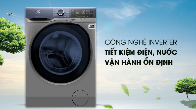 Công nghệ Inverter - Máy giặt Electrolux Inverter 9.5 kg EWF9523ADSA