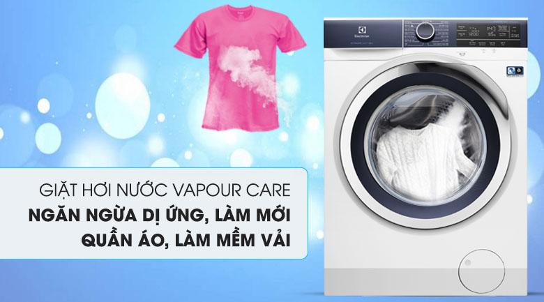 Giặt hơi nước - Máy giặt Electrolux Inverter 9.5 kg EWF9523BDWA
