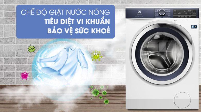 Giặt nước nóng - Máy giặt Electrolux Inverter 9.5 kg EWF9523BDWA