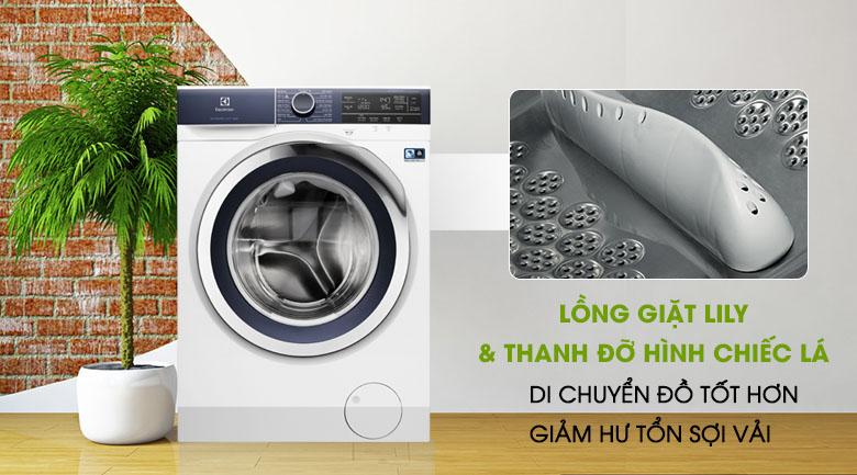 Lồng giặt Lily - Máy giặt Electrolux Inverter 9.5 kg EWF9523BDWA