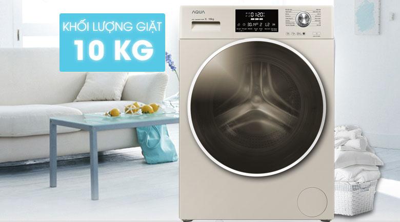 Máy giặt Aqua Inverter 10 kg AQD-D1000C N