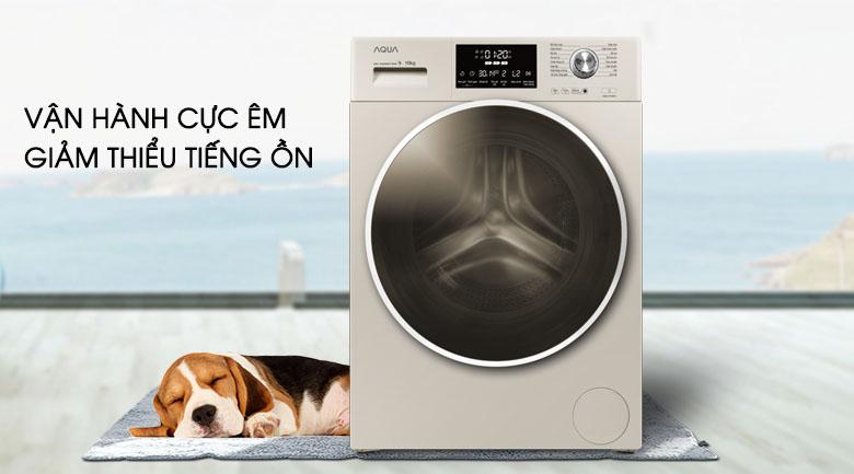 Động cơ truyền động trực tiếp - Máy giặt Aqua Inverter 10 kg AQD-D1000C N