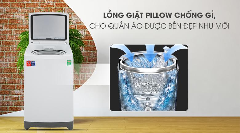 Lồng giặt Pillow - Máy giặt Aqua 10 Kg AQW-FR100ET W