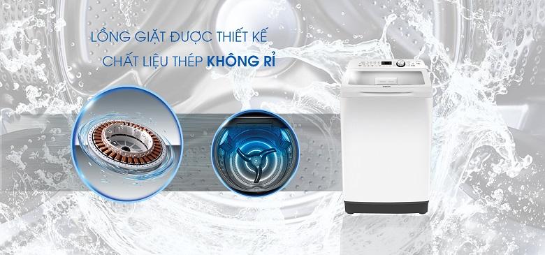 Lồng giặt Pillow - Máy giặt Aqua 12 Kg AQW-FR120CT W
