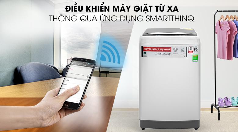 Điều khiển từ xa thông qua ứng dụng Smart ThinQ