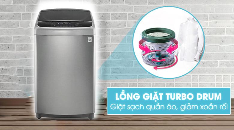 Công nghệ lồng giặt Turbo Drum - Máy giặt LG Inverter 11 kg TH2111SSAL