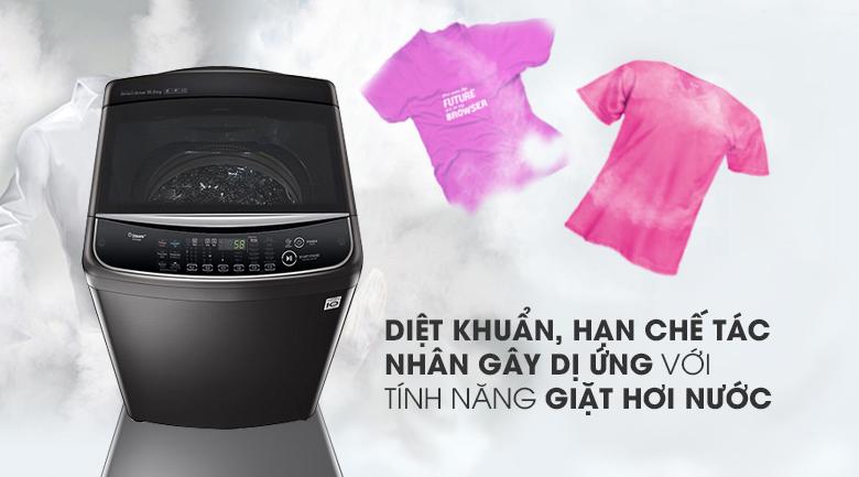 Tính năng giặt hơi nước - Máy giặt LG Inverter 19 kg TH2519SSAK