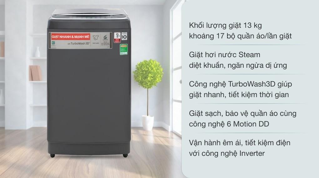 Máy giặt LG Inverter 13 kg TH2113SSAK