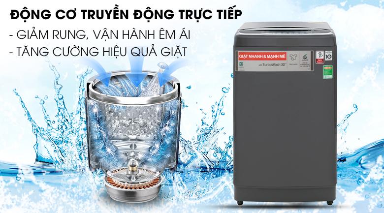 Động cơ truyền động trực tiếp - Máy giặt LG Inverter 13 kg TH2113SSAK