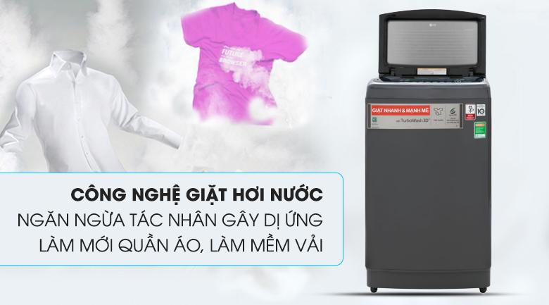 Tính năng giặt hơi nước - Máy giặt LG Inverter 13 kg TH2113SSAK