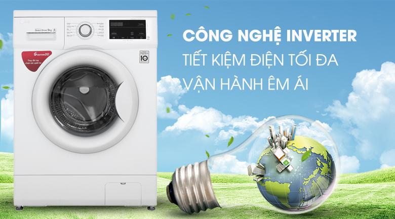 Công nghệ Inverter - Máy giặt LG Inverter 9 kg FM1209N6W