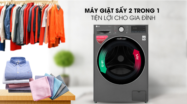 Giặt sấy 2 trong 1