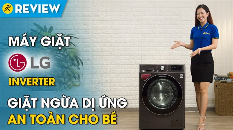 Máy giặt LG Inverter 10.5 kg FV1450S2B