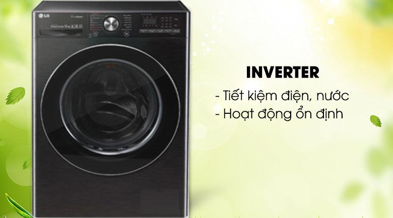 Công nghệ Inverter - Máy giặt LG Inverter 10.5 kg FV1450S2B
