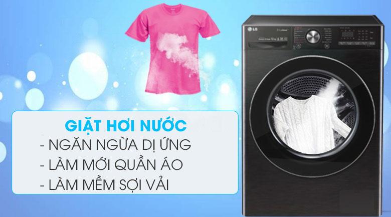Giặt hơi nước - Máy giặt LG Inverter 10.5 kg FV1450S2B