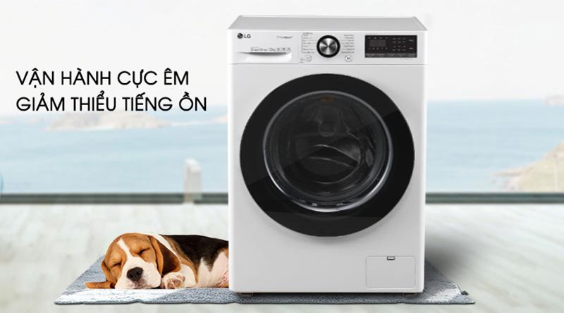 Máy giặt LG Inverter 10.5 kg FV1450S3W  - Độ bền cao với động cơ truyền động trực tiếp