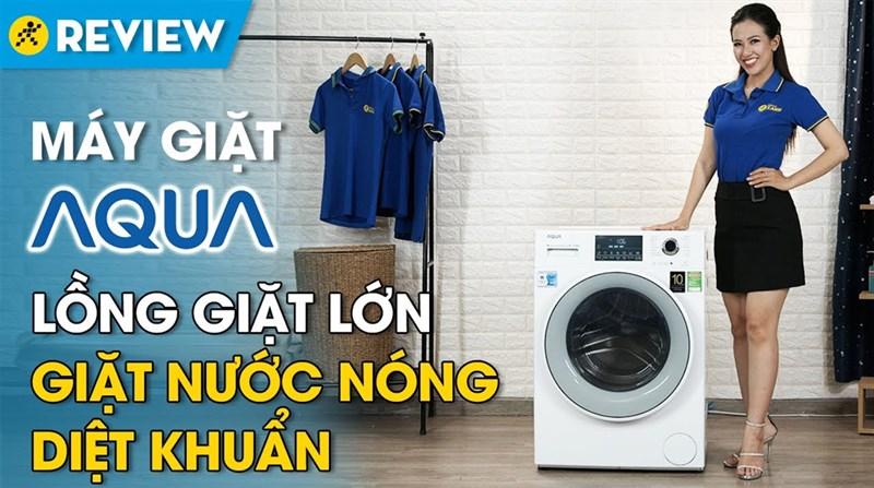 Máy giặt Aqua Inverter 8.5 kg AQD-D850E W