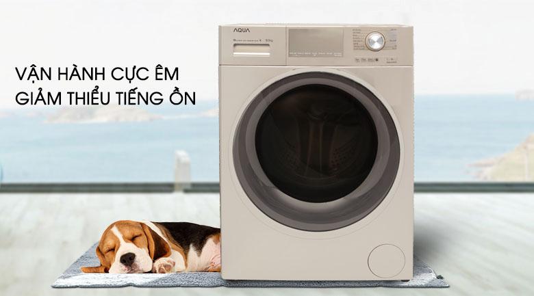 Động cơ truyền động trực tiếp - Máy giặt Aqua Inverter 9.5 kg AQD-D950E N