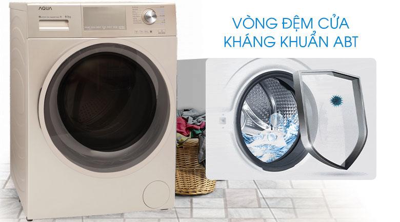 Vòng đệm kháng khuẩn ABT - Máy giặt Aqua Inverter 9.5 kg AQD-D950E N