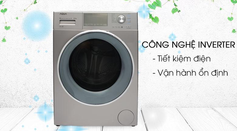 Công nghệ Inverter - Máy giặt Aqua Inverter 9.5 kg AQD-DD950E S