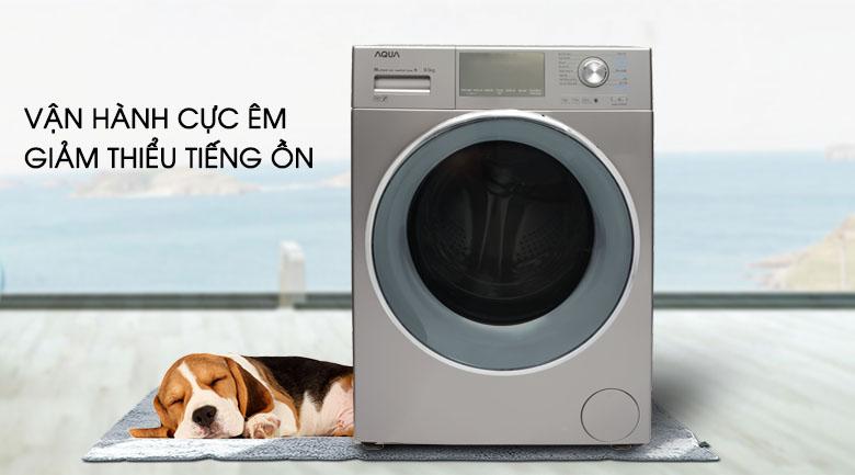 Động cơ truyền động trực tiếp - Máy giặt Aqua Inverter 9.5 kg AQD-DD950E S