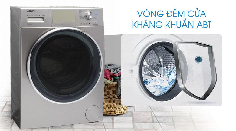 Vòng đệm cửa kháng khuẩn - Máy giặt Aqua Inverter 9.5 kg AQD-DD950E S