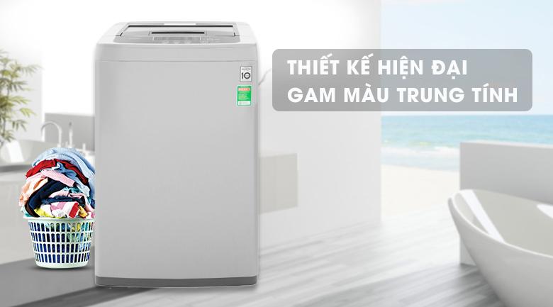 Máy giặt LG Inverter 8 kg T2108VSPM2 - Thiết kế hiện đại cùng gam màu trung tính