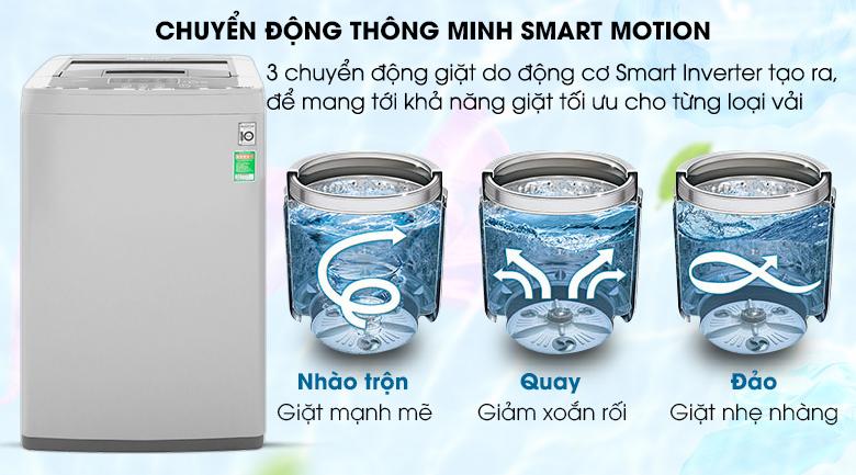 Chuyển động giặt Smart Motion
