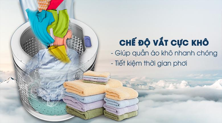 Vắt cực khô - Máy giặt Panasonic Inverter 10.5 Kg NA-FD10VR1BV
