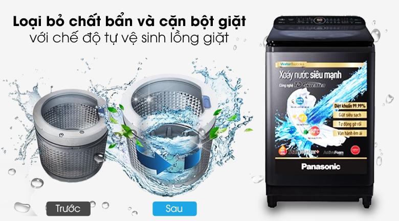 Tự vệ sinh lồng giặt - Máy giặt Panasonic Inverter 11.5 Kg NA-FD11VR1BV