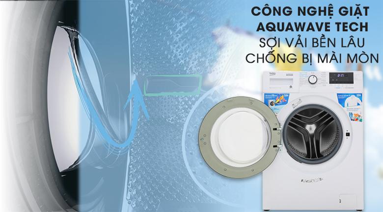 Máy giặt Beko Inverter 9 kg WCV9612XB0ST - Bảo vệ sợi vải tối ưu nhờ công nghệ Aquawave Tech