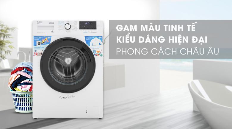 Máy giặt Beko Inverter 9 kg WCV9612XB0ST -Gam màu tinh tế, kiểu dáng hiện đại, phong cách châu Âu