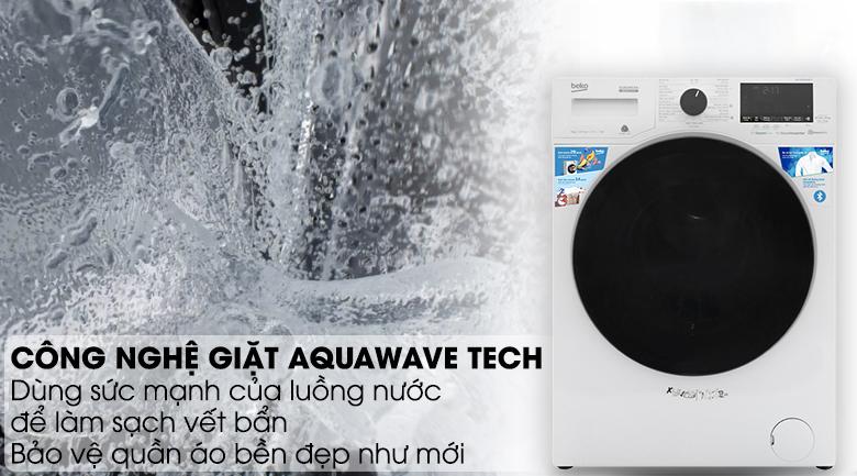 Máy giặt Beko Inverter 9 kg WCV9649XWST - Giữ sợi vải bền lâu nhờ công nghệ Aquawave Tech