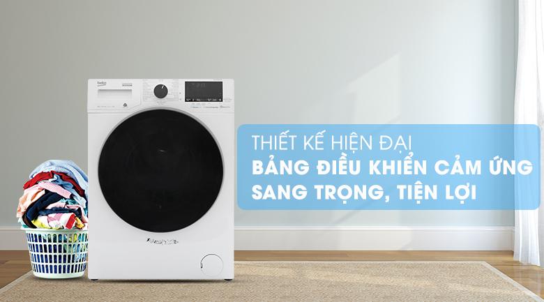 Máy giặt Beko Inverter 9 kg WCV9649XWST - Thiết kế phong cách châu Âu, gam màu thanh lịch