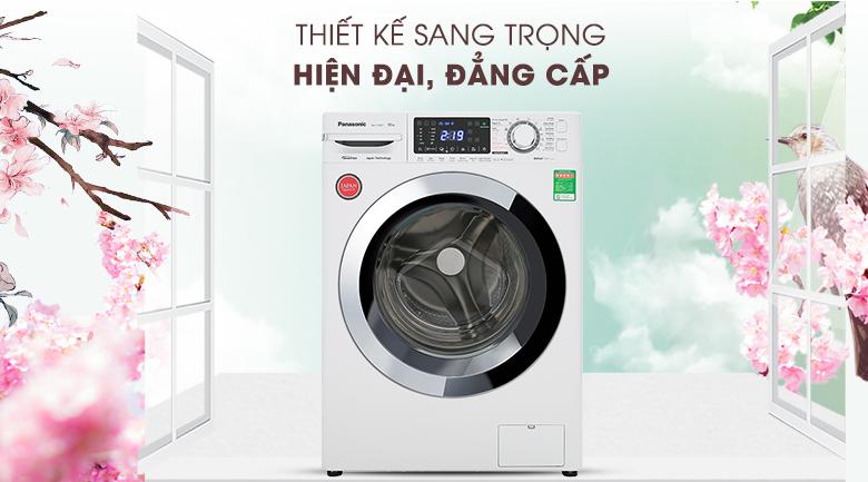 Máy giặt Panasonic NA-V10FG1WVT - Thiết kế sang trọng, đẳng cấp