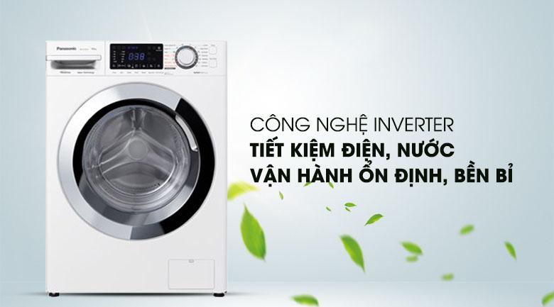 Công nghệ Inverter - Máy giặt Panasonic Inverter 10 Kg NA-V10FG1WVT