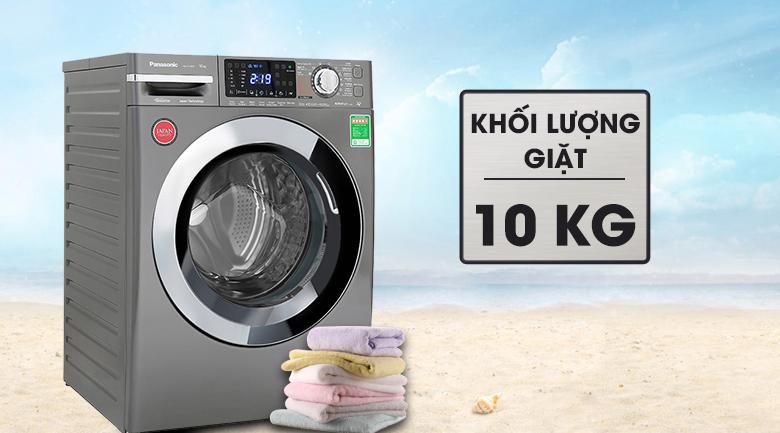 Máy giặt Panasonic Inverter 10 Kg NA-V10FX1LVT - Khối lượng giặt