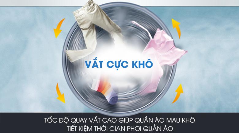 Máy giặt Panasonic Inverter 10 Kg NA-V10FX1LVT - Vắt cực khô